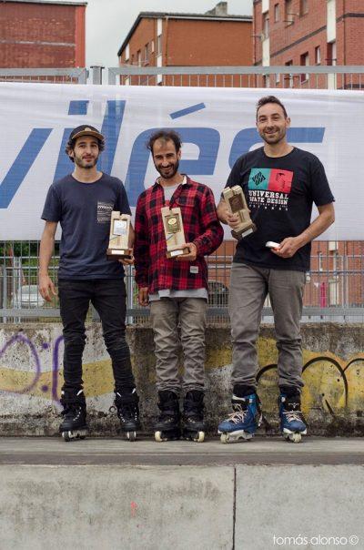 Clasificados Campeonato de España 2019: Roberto Lopez, Luisma García, Pablo Pato.